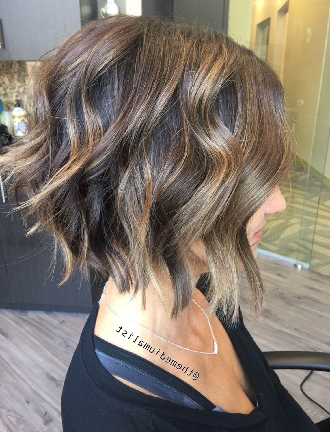 Preferred Soft Feathery Texture Hairstyles For Long Hair In Soft Balayage With A Textured Bob! (View 16 of 20)