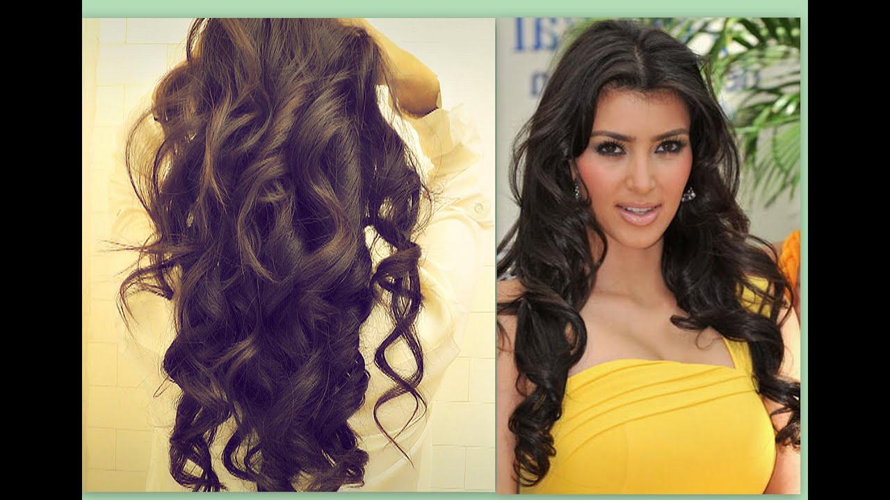Preferred Soft Feathery Texture Hairstyles For Long Hair Pertaining To ☆ Kim Kardashian Hair Tutorial (View 17 of 20)