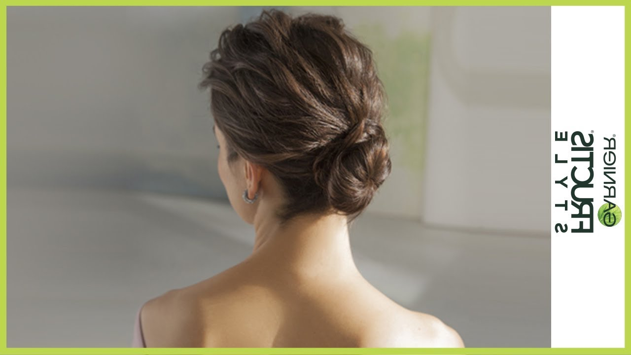 Featured Photo of Messy Twisted Chignon Prom Hairstyles