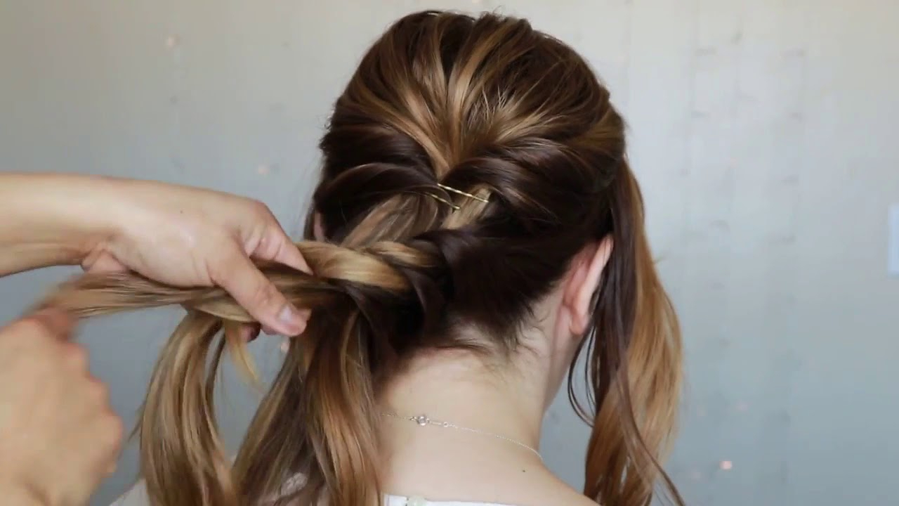 Prom Hairstyles For Medium Long Hair Tutorial (View 3 of 20)