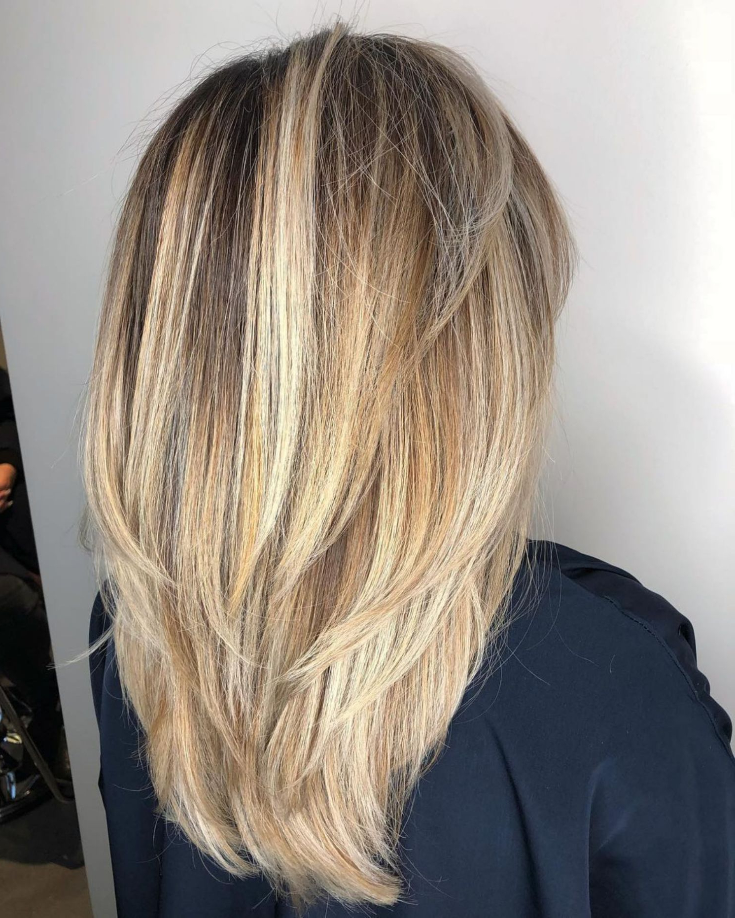 Recent Edgy V Line Layers For Long Hairstyles With Regard To 80 Cute Layered Hairstyles And Cuts For Long Hair In 2019 (Gallery 2 of 20)