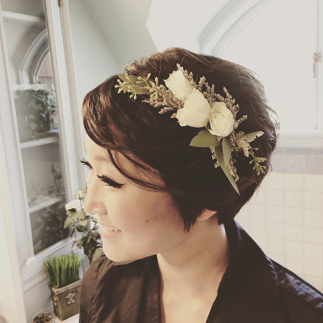Recent Floral Braid Crowns Hairstyles For Prom Inside 16 Easy Prom Hairstyles For Short And Medium Length Hair (Gallery 12 of 20)