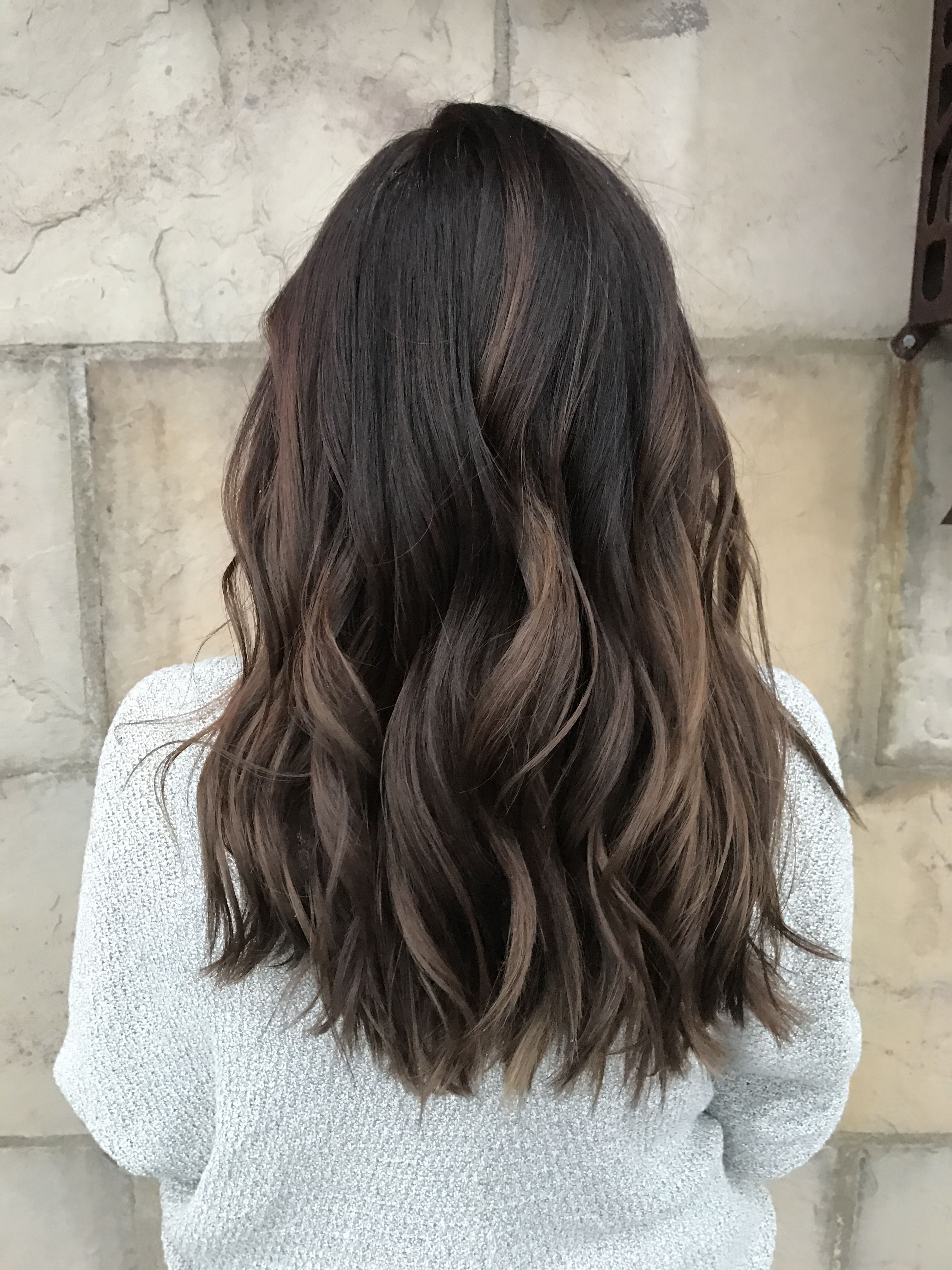 Recent Long Layered Light Chocolate Brown Haircuts With Regard To Dimensional Brunette. Baby Highlights. Balayage. Ombré (View 4 of 20)