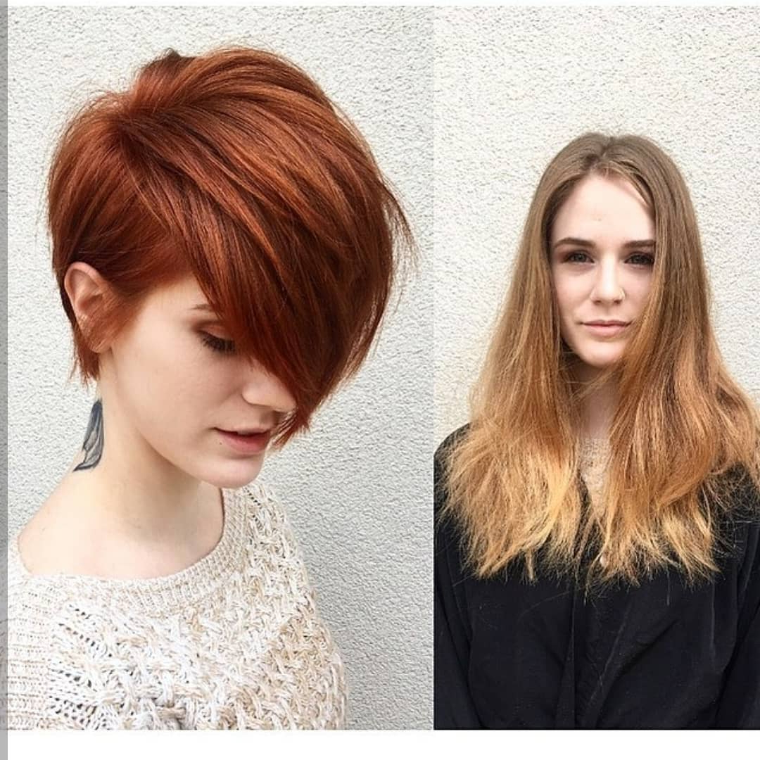 Recent Short Obvious Layers Hairstyles For Long Hair Pertaining To 10 Cute Short Haircuts, Make Overs: Long Hair To Short Hair Before (View 18 of 20)
