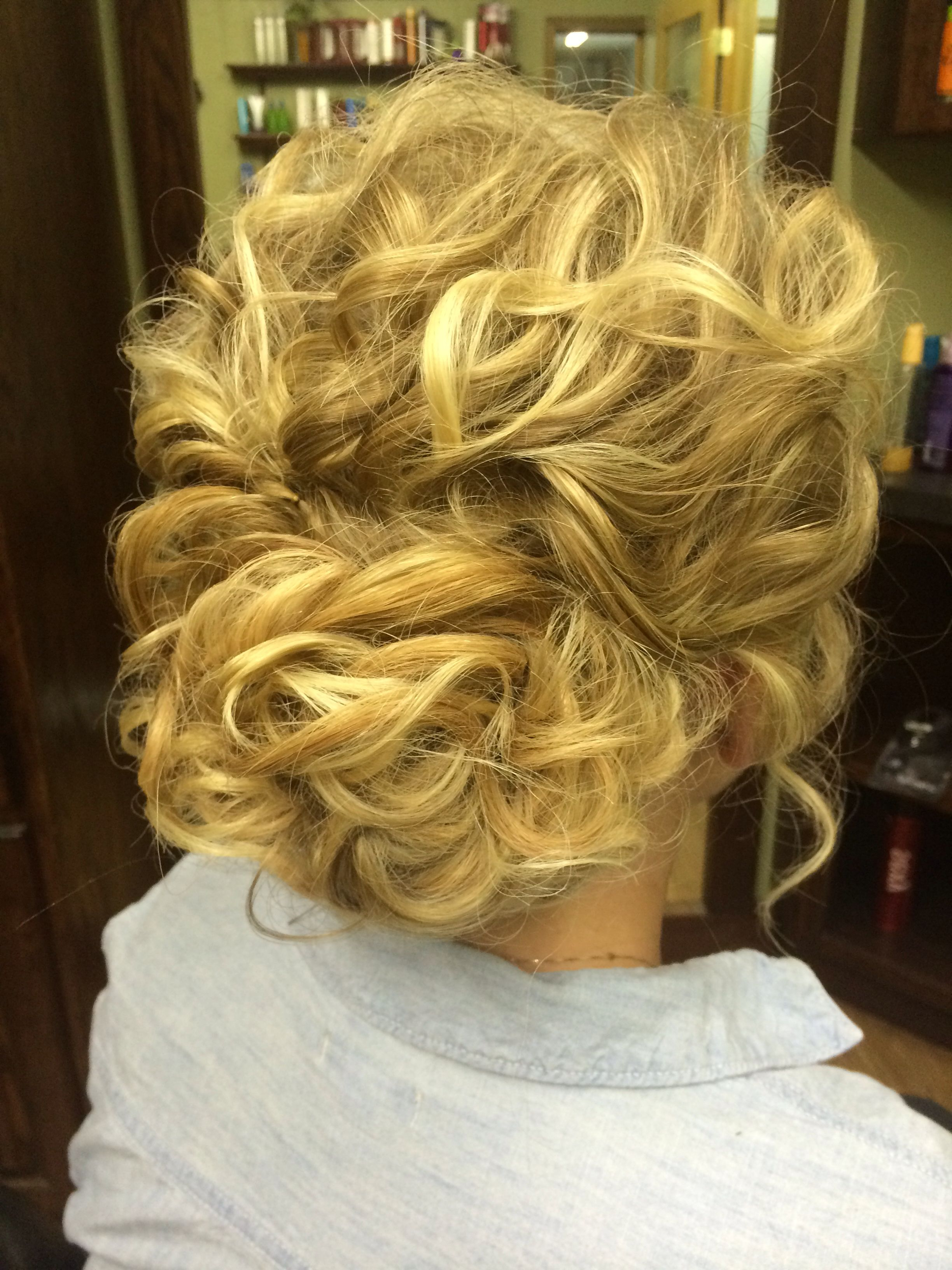Recent Tousled Prom Updos For Long Hair With Bridesmaid Hair Tousled Curly Loose Updo For When My Hair Is Crazy (Gallery 11 of 20)