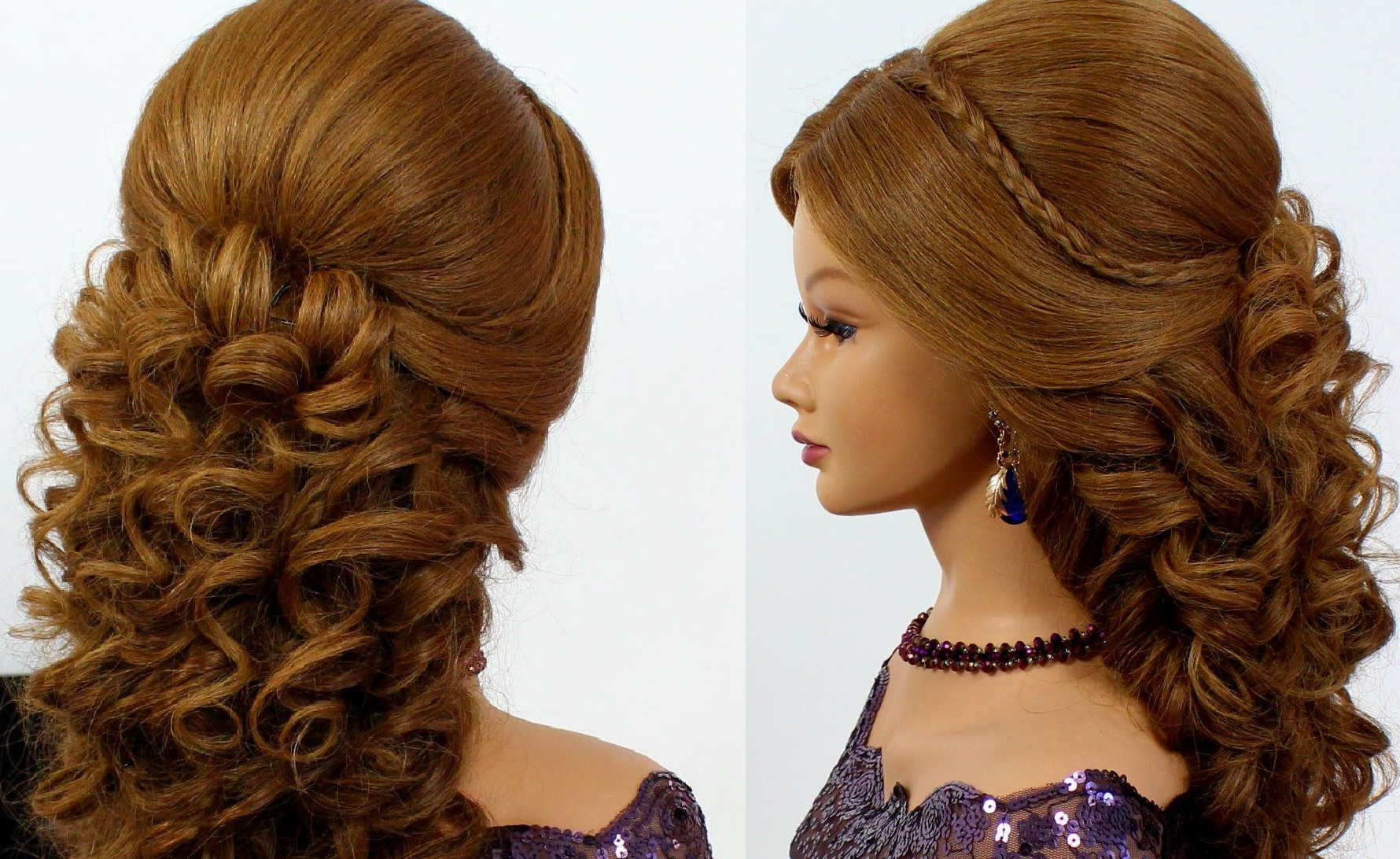 Romantic Wedding Prom Hairstyle For Long Hair (View 17 of 20)