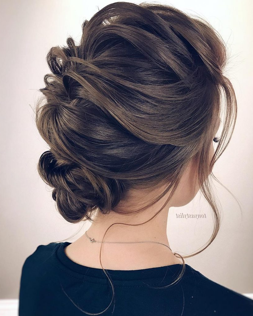 Sexy Medium Length Hair Updos For Prom 2019 – Haircare Within Most Recent Complex Looking Prom Updos With Variety Of Textures (View 13 of 20)