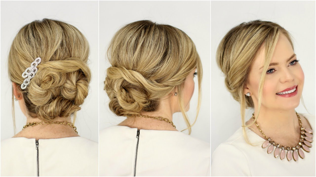 Soft Twisted Updo (View 15 of 20)