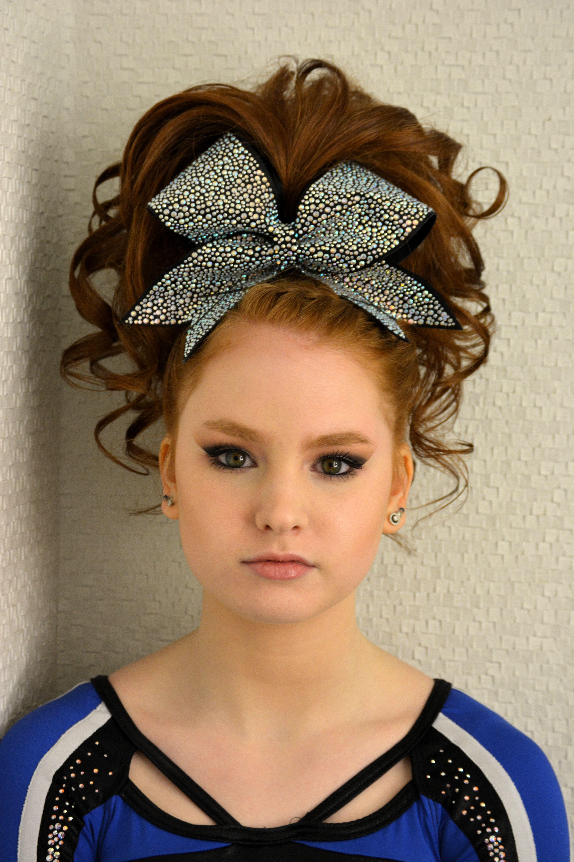 Teased Cheer Hair Curls Ponytail Braid (Gallery 7 of 20)