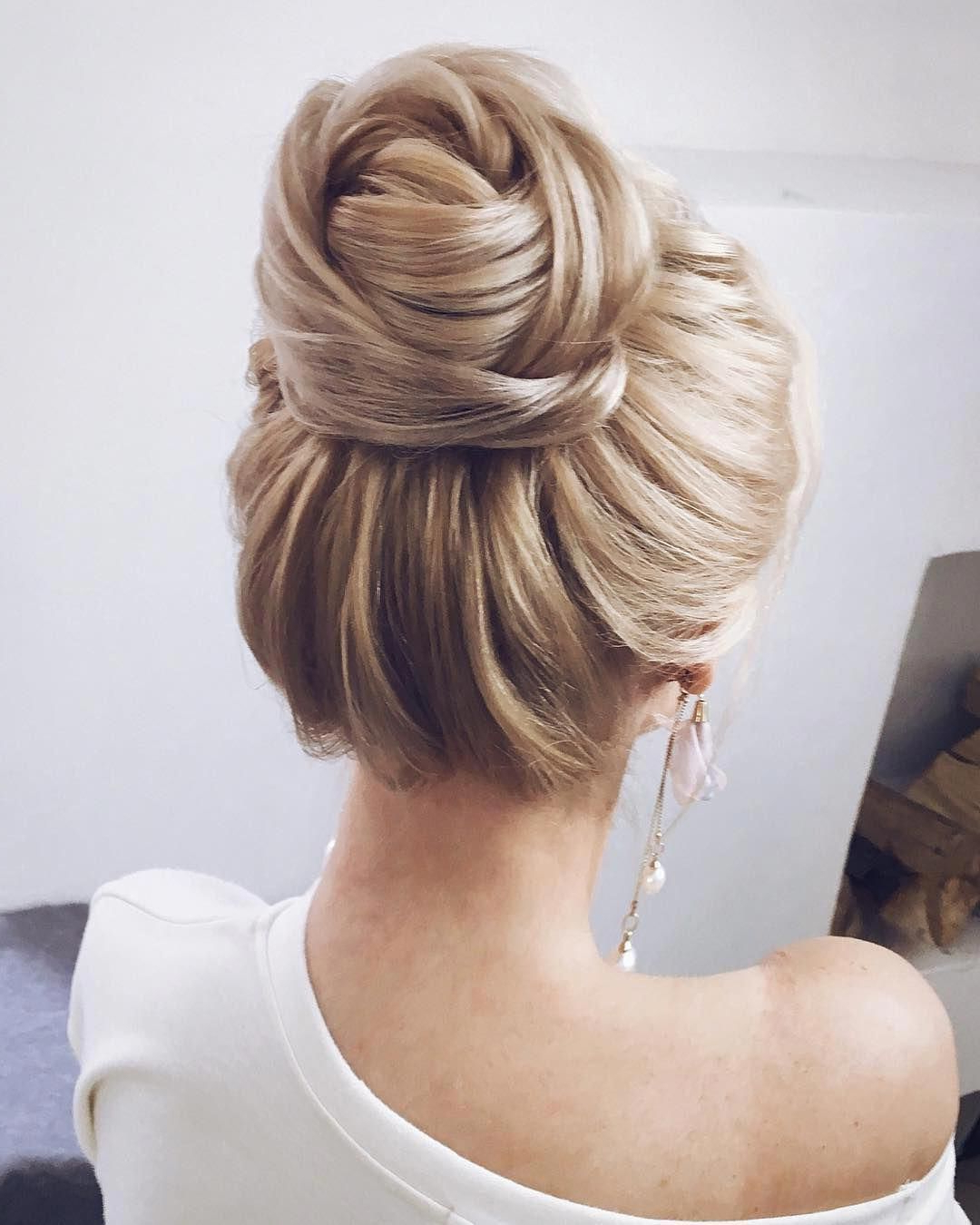 Textured Wedding Updo Hairstyle ,messy Updo Wedding Hairstyles Throughout Best And Newest Complex Looking Prom Updos With Variety Of Textures (View 15 of 20)