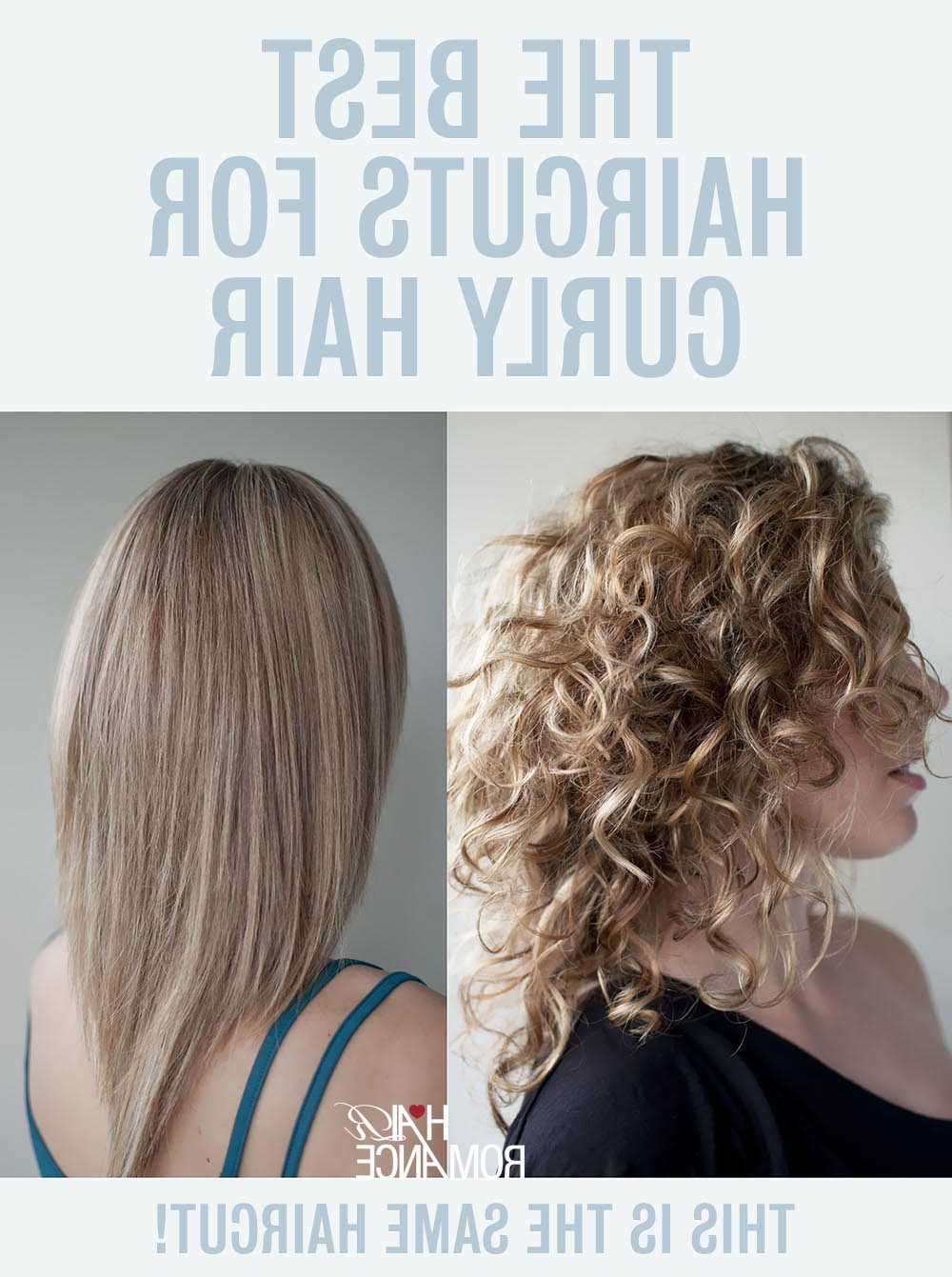 The Best Haircuts For Curly Hair – Hair Romance Regarding Current Long Layered Half Curled Hairstyles (View 16 of 20)