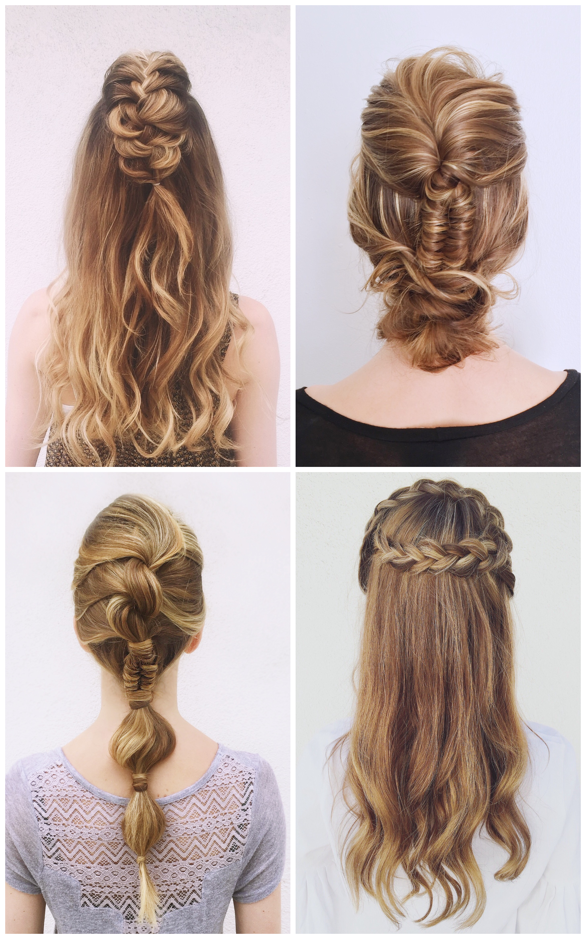 Trendy Asymmetrical Knotted Prom Updos For 20 Braided Prom Hairstyles For Stylish Girls (View 20 of 20)