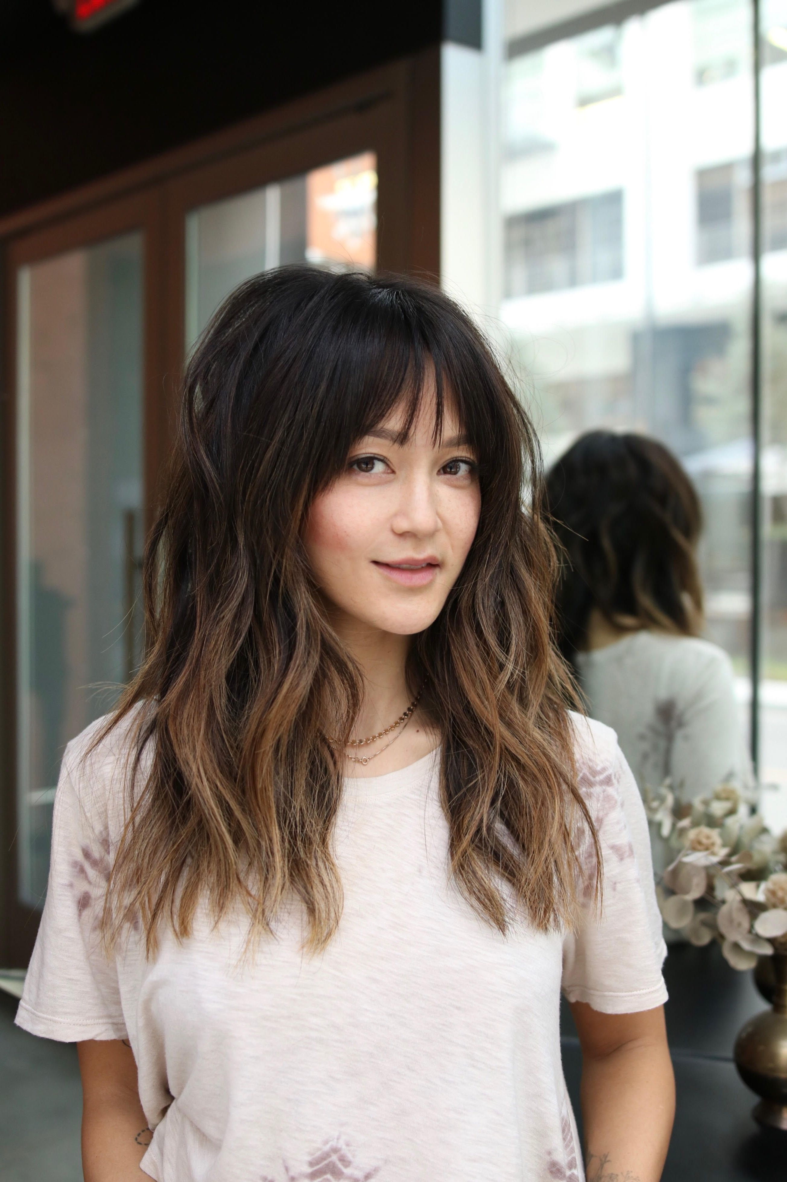 Trendy Spring Haircut Ideas To Inspire Fresh 2019 Look With 2018 Long Choppy Haircuts With A Sprinkling Of Layers (View 10 of 20)