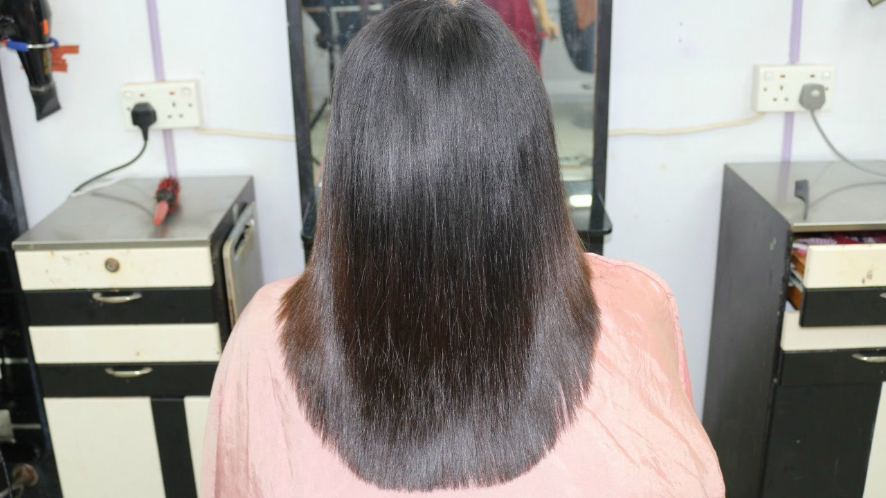 U Shape Layer Cut / Indra Gurung – Youtube Pertaining To Current Long Feathered Layers For U Shaped Haircuts (Gallery 8 of 20)