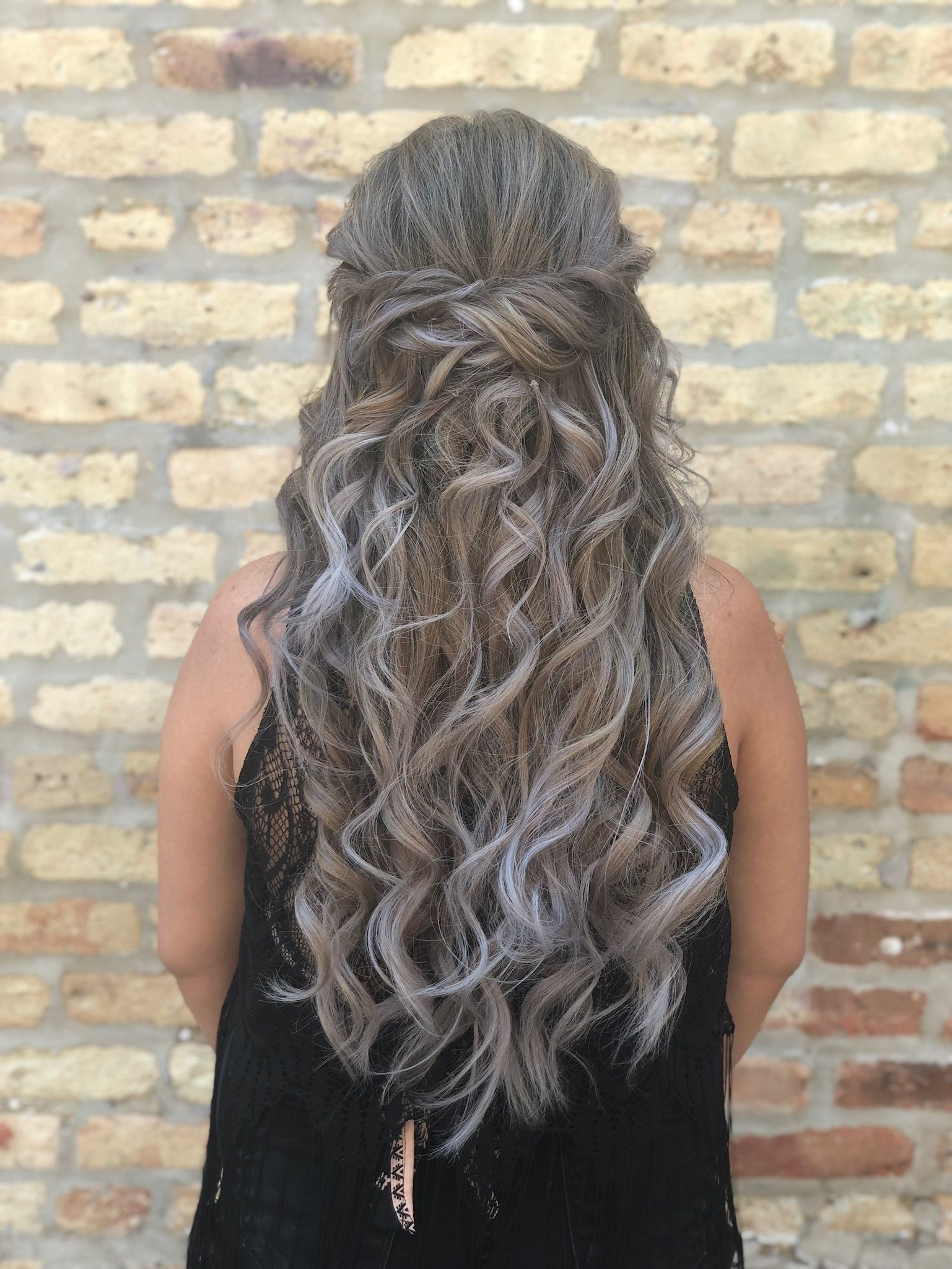 Waves Look Great On Every Hair Length, But This Hair Model's With Regard To Current Cascading Waves Prom Hairstyles For Long Hair (Gallery 5 of 20)