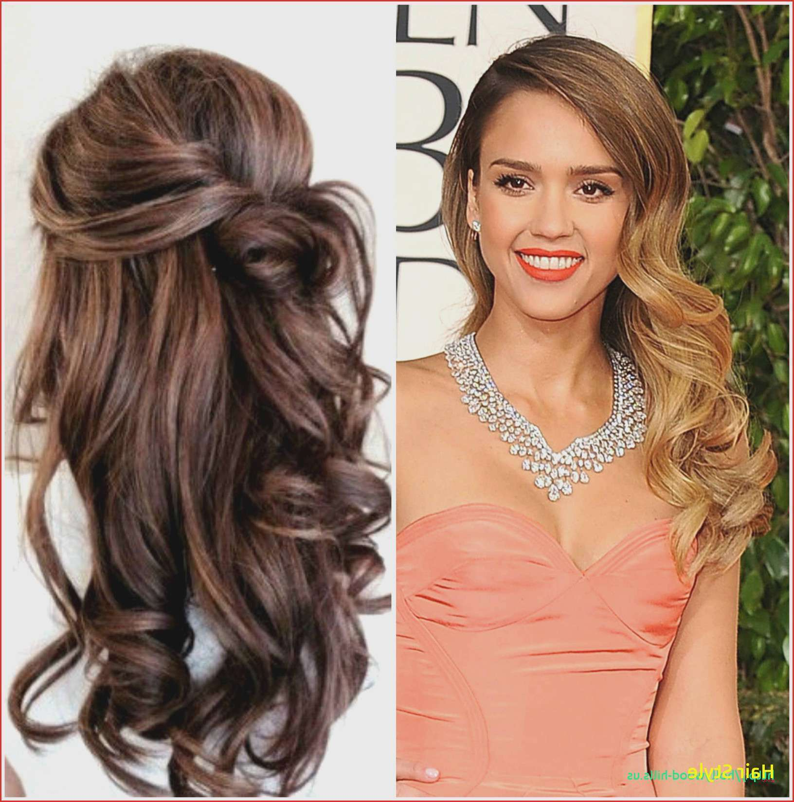 Wedding Hairstyle : Half Up Down Do Braid Curls Wedding Hairstyles In Favorite Long Side Swept Curls Prom Hairstyles (View 19 of 20)