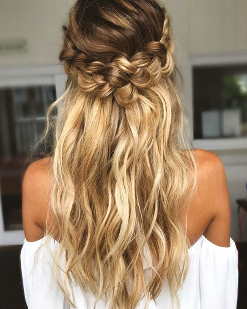 Well Known Braid Spikelet Prom Hairstyles With The Best Long Hair Styles For Your Wedding Day (View 9 of 20)