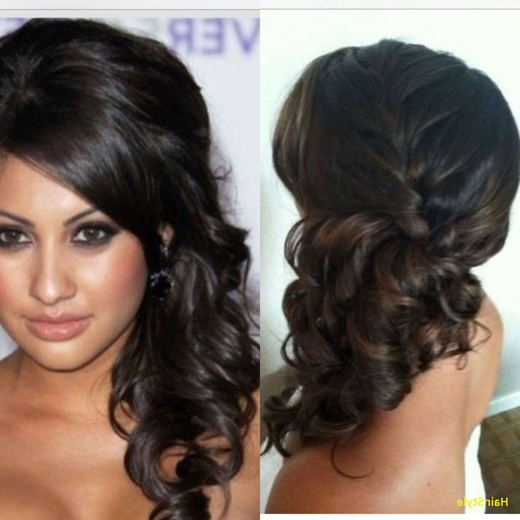 Well Known Elegant Braid Side Ponytail Hairstyles In Hairstyles : Side Pony Hairstyle Scenic Elegant Side Do Wedding (View 5 of 20)