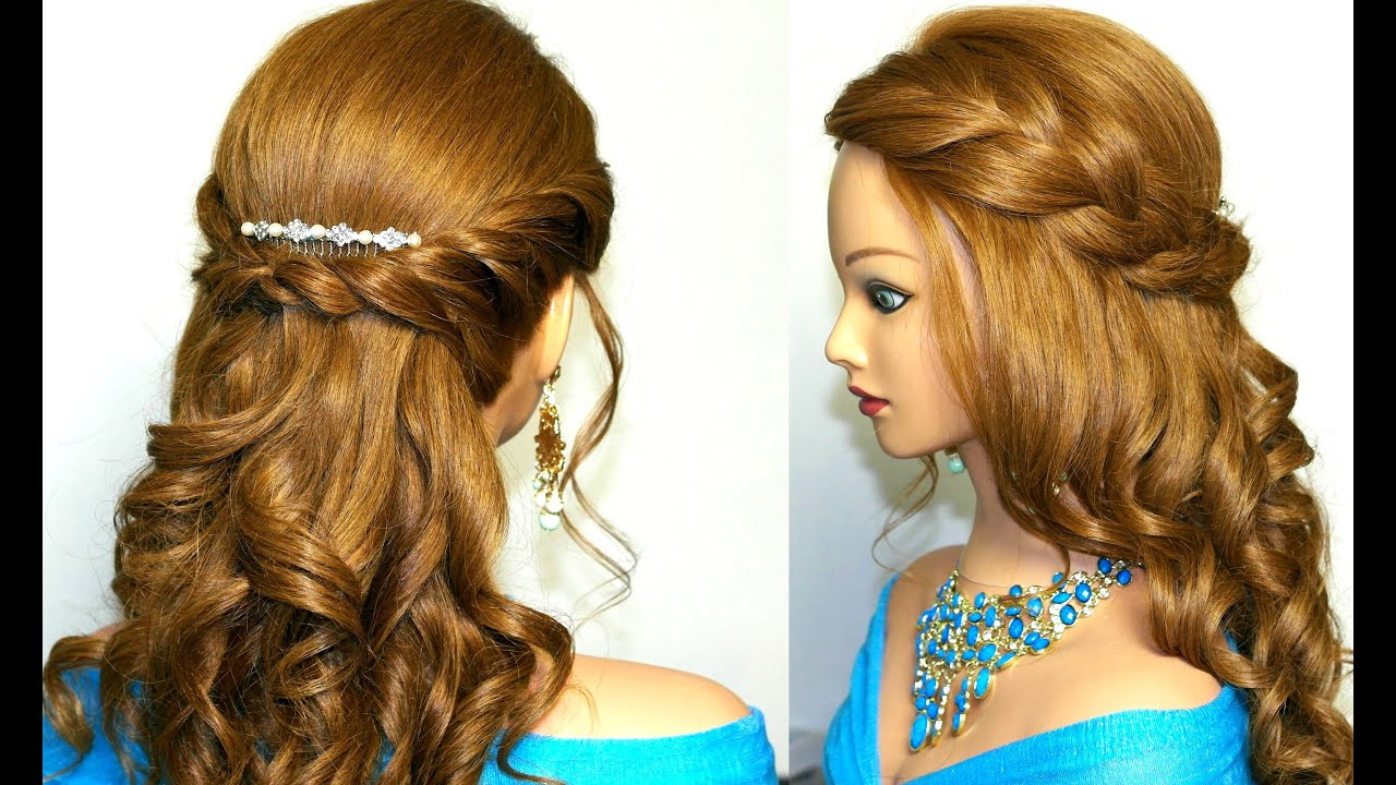 Well Known Formal Curly Hairdo For Long Hairstyles For Curly Prom Hairstyle For Medium Long Hair (View 17 of 20)