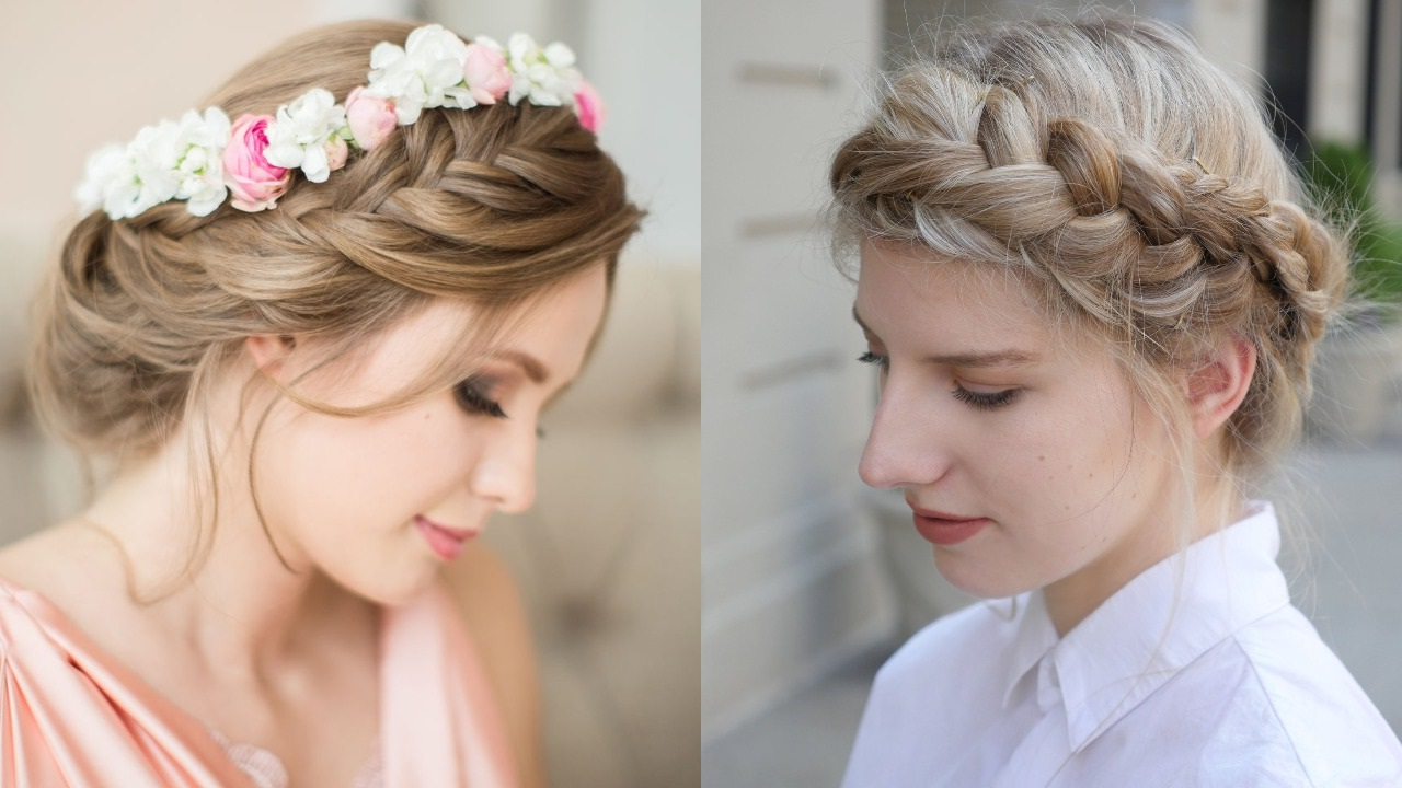 Well Known Jewelled Basket Weave Prom Updos In 20 Royal And Charismatic Crown Braid Hairstyles – Haircuts (View 6 of 20)
