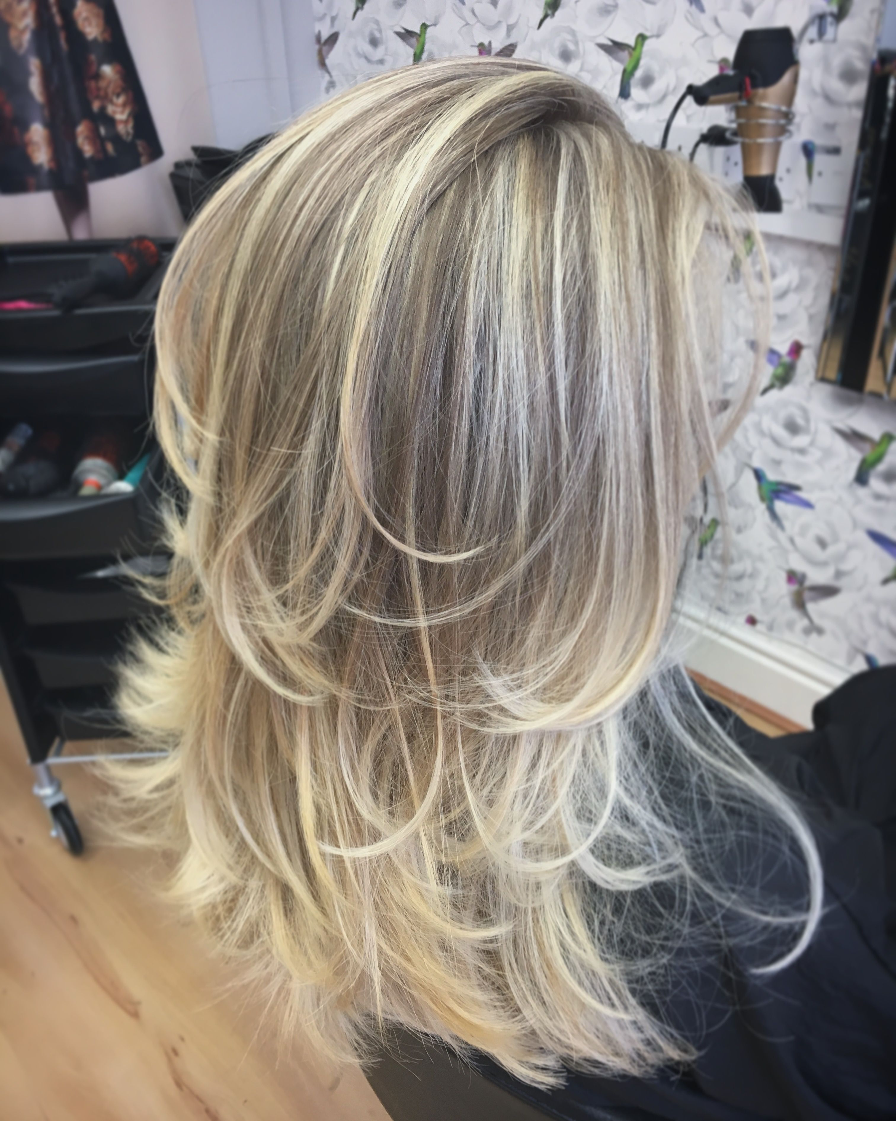 Well Known Layered Ombre For Long Hairstyles Regarding Long Layers, Blonde Balayage, Blonde Highlights, Ash Blonde, Layers (View 17 of 20)