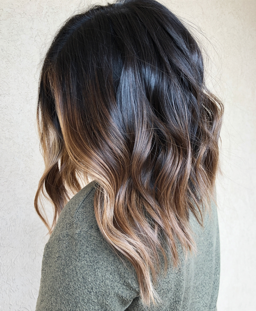 Well Known Long Thick Black Hairstyles With Light Brown Balayage Regarding 20 Best Face Framing Highlights For Every Base Color And Face Shape (Gallery 17 of 20)