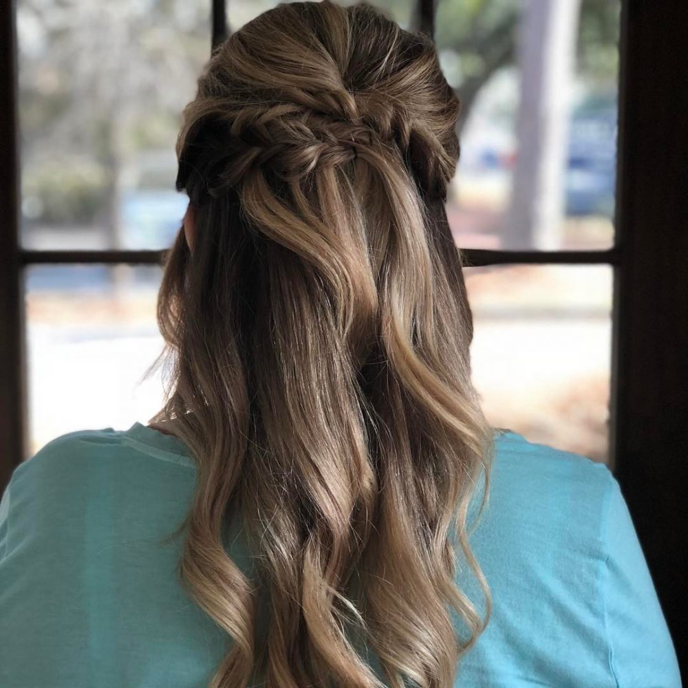 Well Known Princess Like Side Prom Downdos Inside Princess Hairstyles: The 26 Most Charming Ideas For (View 10 of 20)