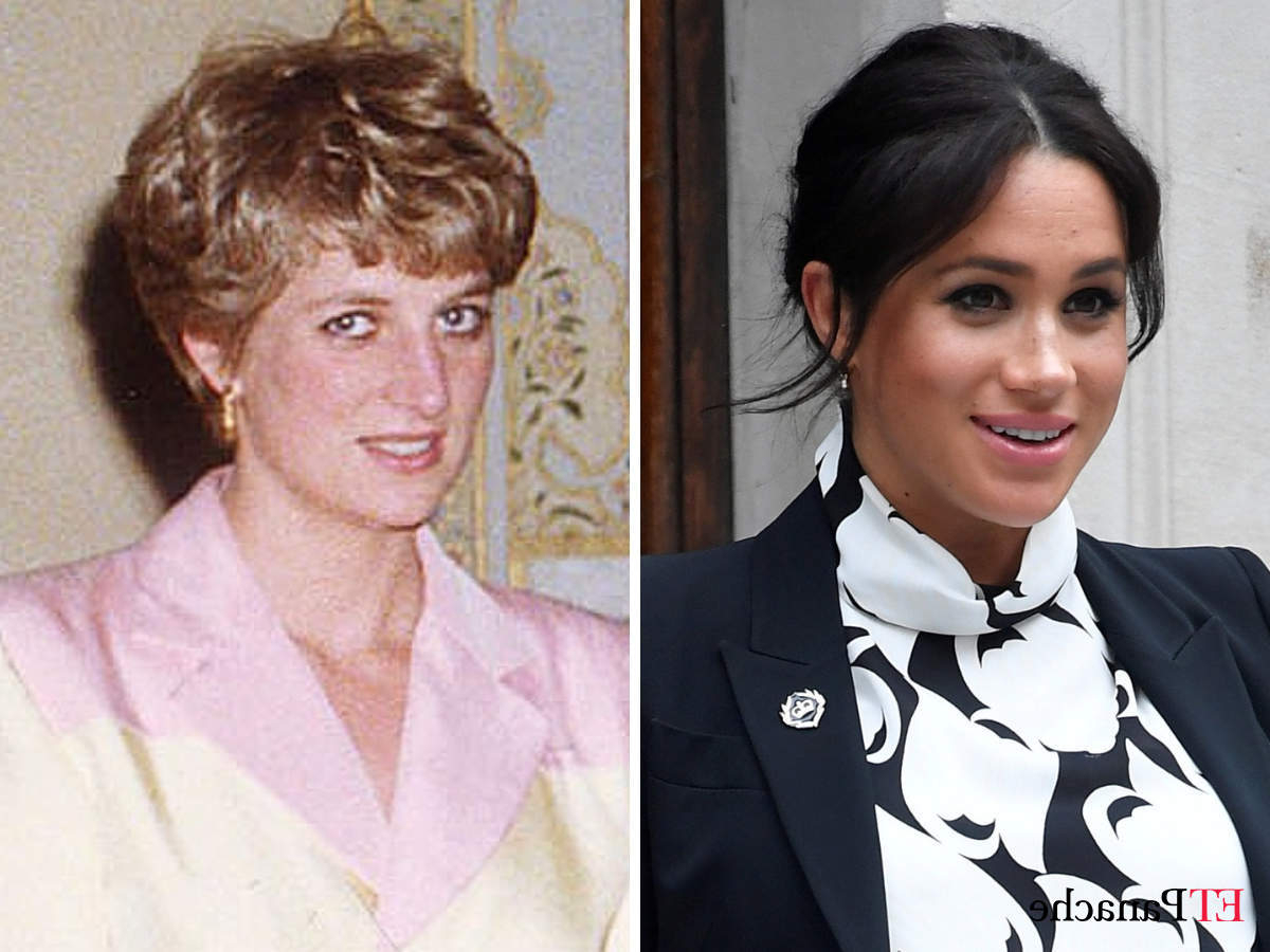 Well Known Princess Like Side Prom Downdos With Is History Repeating Itself? Meghan Markle May Be Facing A Similar (View 3 of 20)