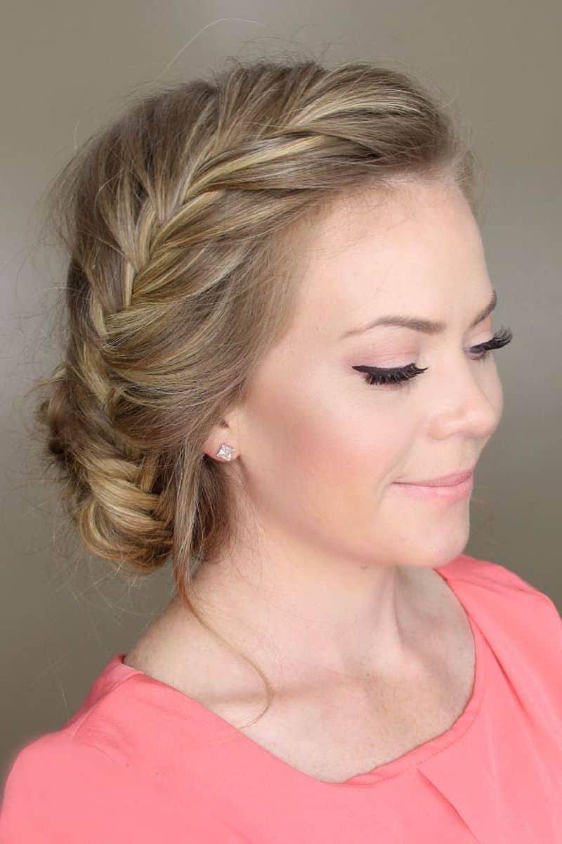 Well Known Side Bun Twined Prom Hairstyles With A Braid With Best 10 Prom Hairstyles That Can Rock The Dance Floor! (Gallery 12 of 20)