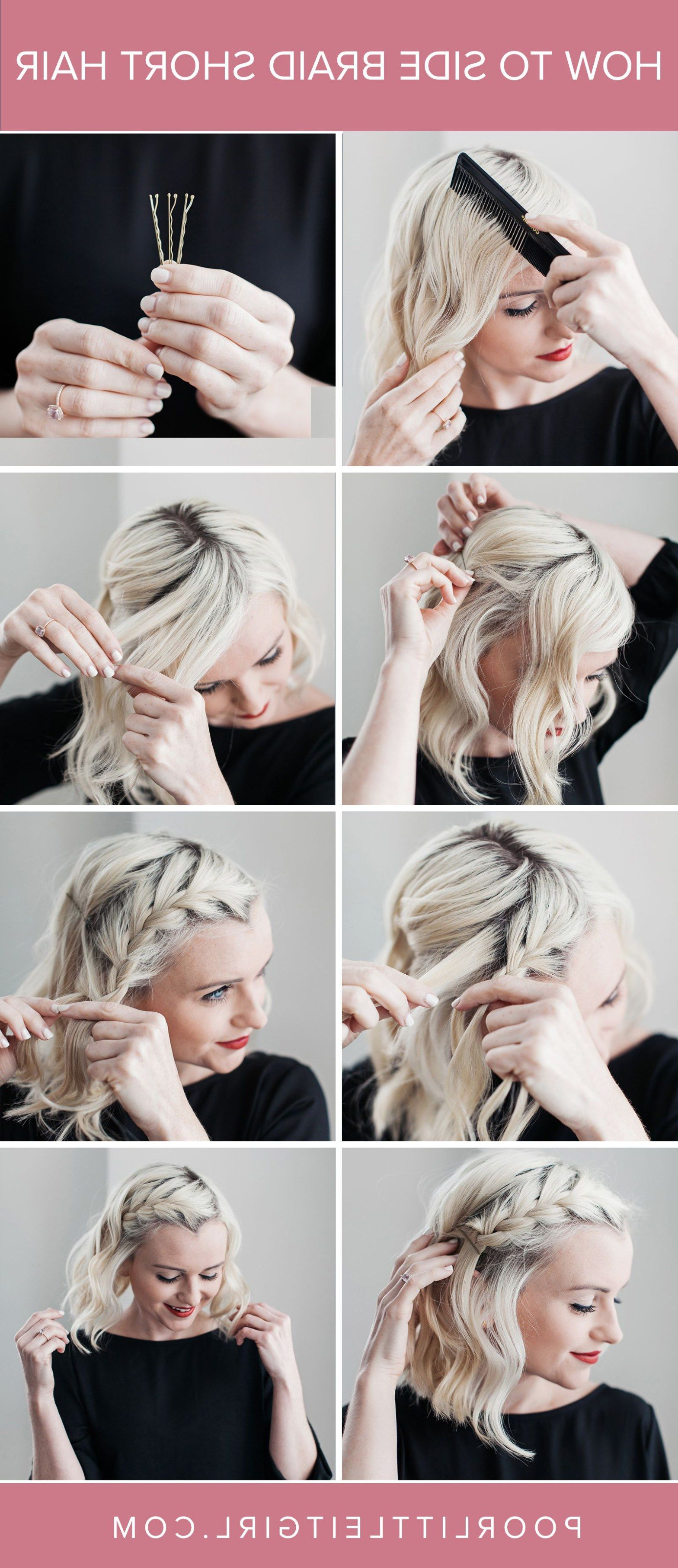 Well Liked Bobbing Along Prom Hairstyles Intended For If You Intend To Look Pretty On Your Close Friend's Party Or Just (Gallery 10 of 20)