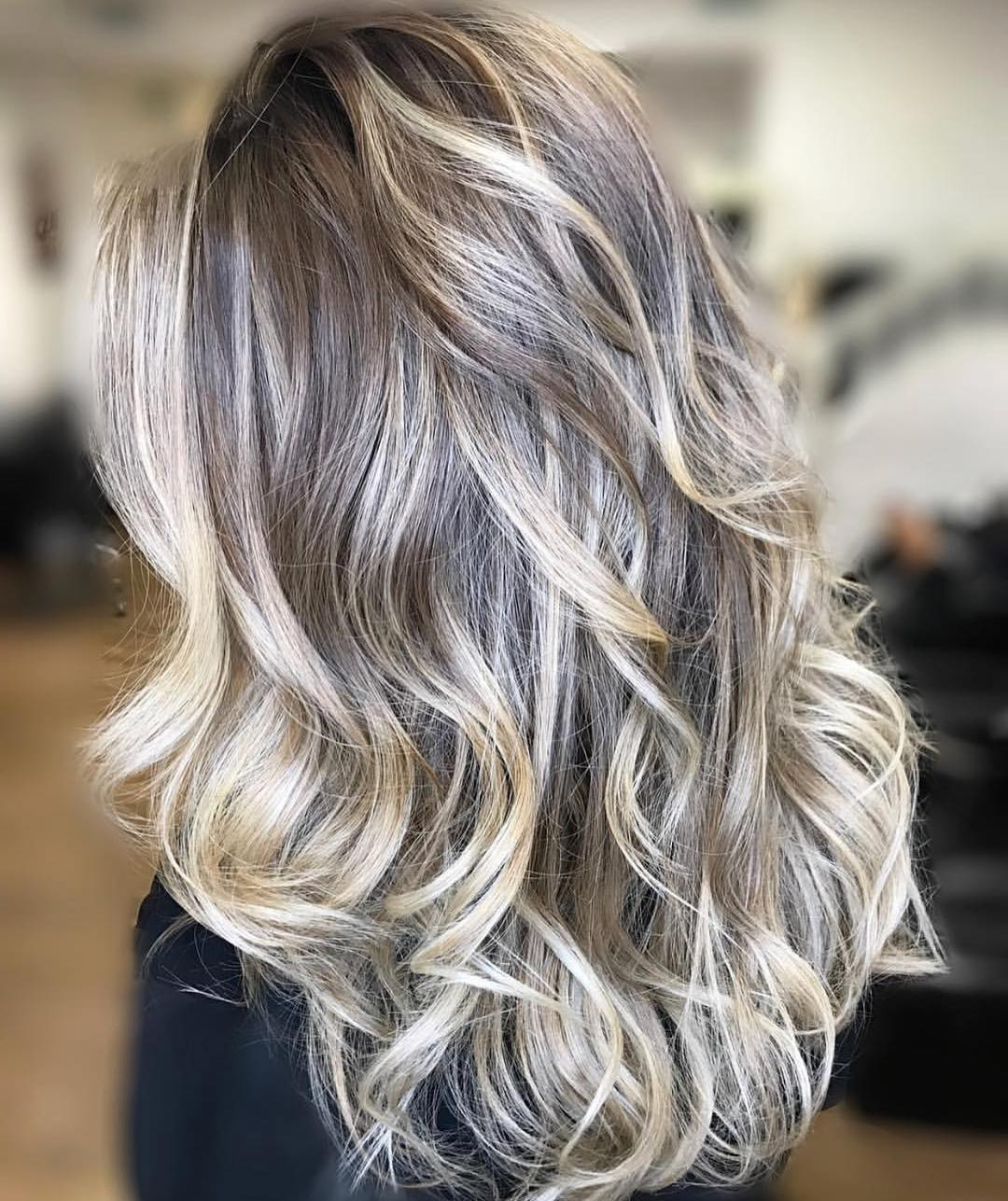 Well Liked Long Dark Hairstyles With Blonde Contour Balayage Inside Balayage 101: The Fullest Guide To Balayage Hair (View 6 of 20)