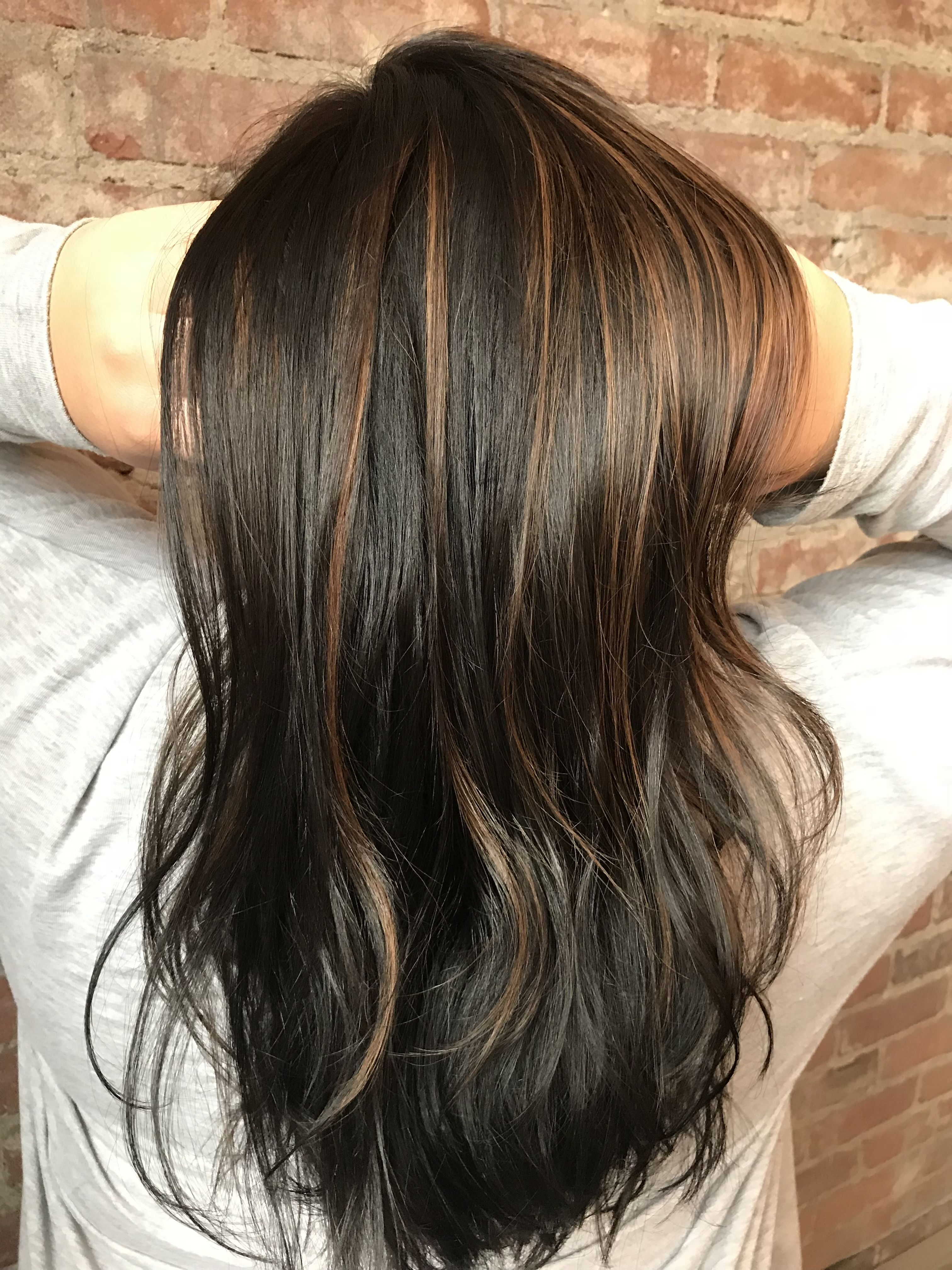 Well Liked Warm Toned Brown Hairstyles With Caramel Balayage Within Caramel Balayage. Brunette Hair. Dark Brown Hair (View 20 of 20)