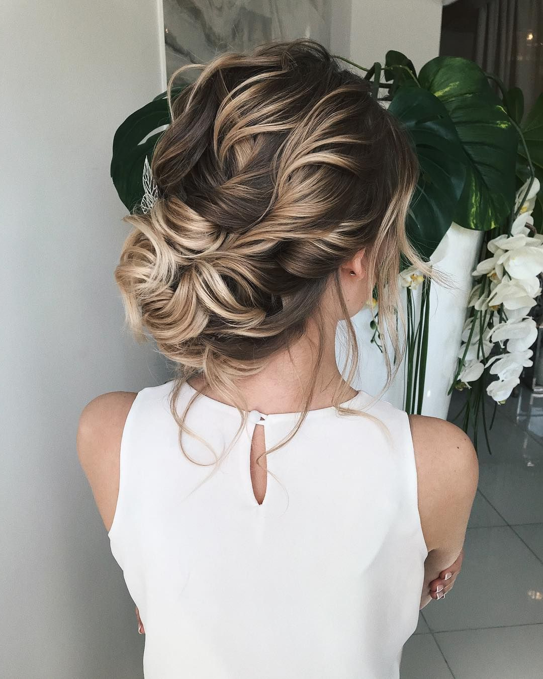 Widely Used Complex Looking Prom Updos With Variety Of Textures In Textured Updo, Updo Wedding Hairstyles,updo Hairstyles,messy Updos (View 20 of 20)