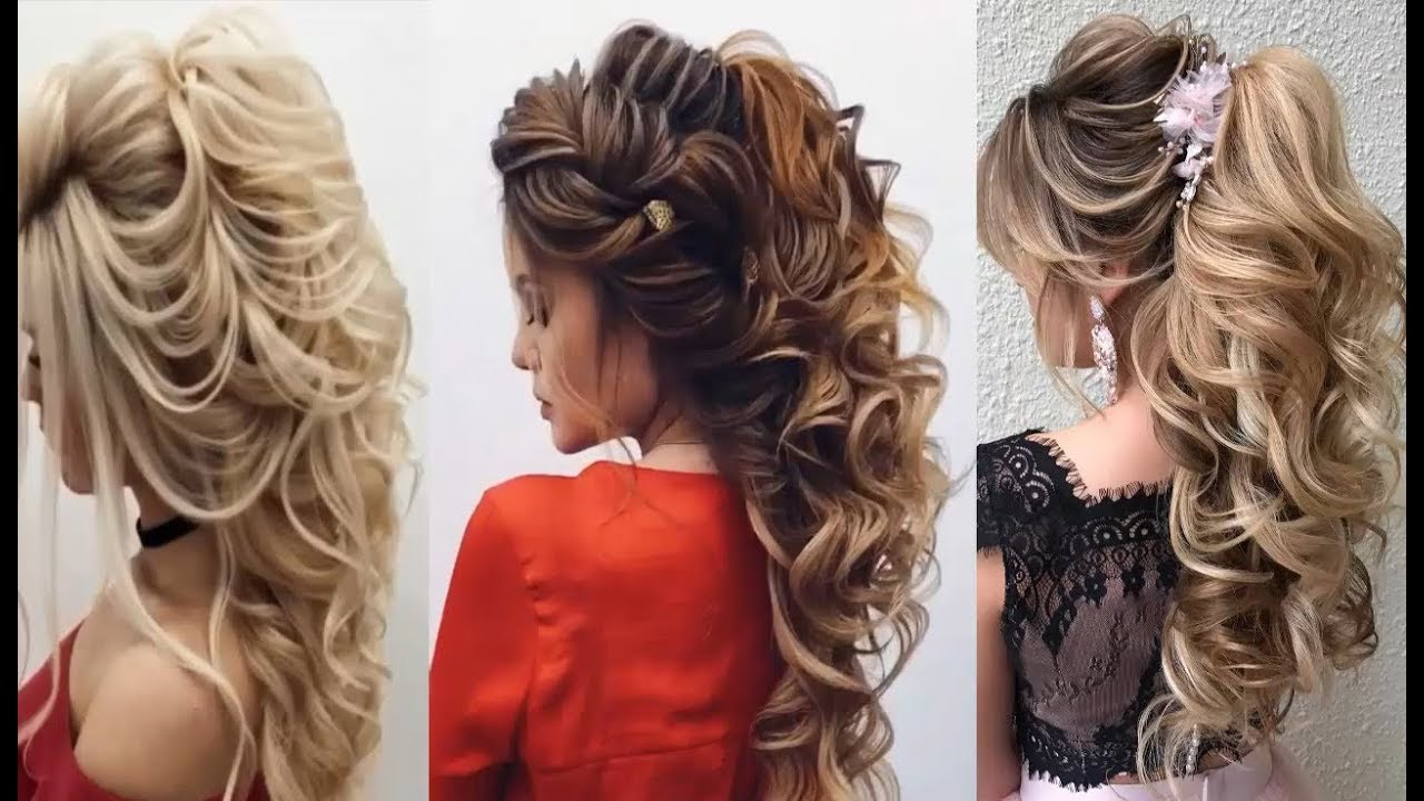 Widely Used Formal Curly Hairdo For Long Hairstyles Intended For Curly Prom Hairstyles For Medium Hair (View 19 of 20)