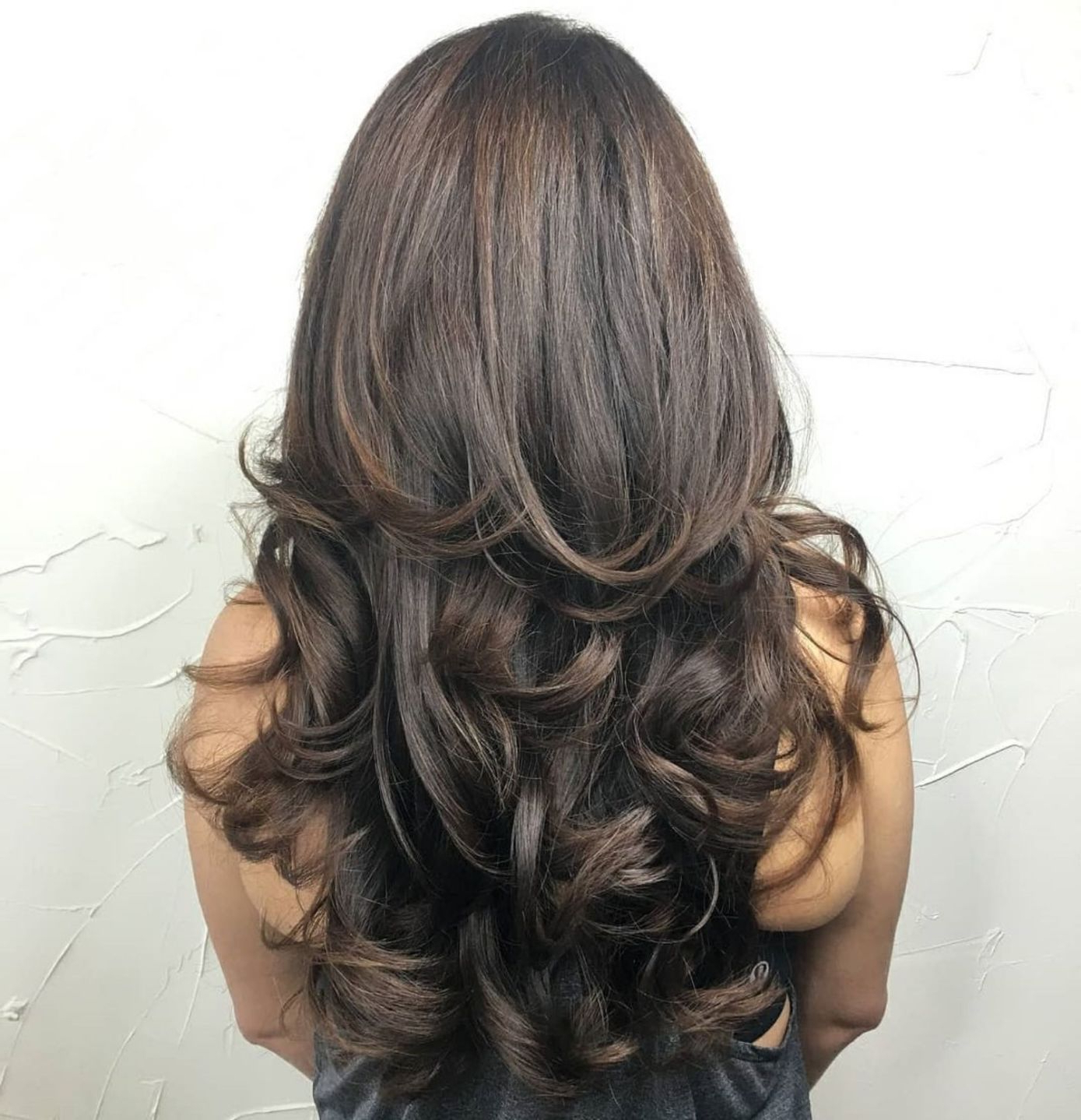 Widely Used Long Layered Half Curled Hairstyles Intended For 80 Cute Layered Hairstyles And Cuts For Long Hair In (View 2 of 20)