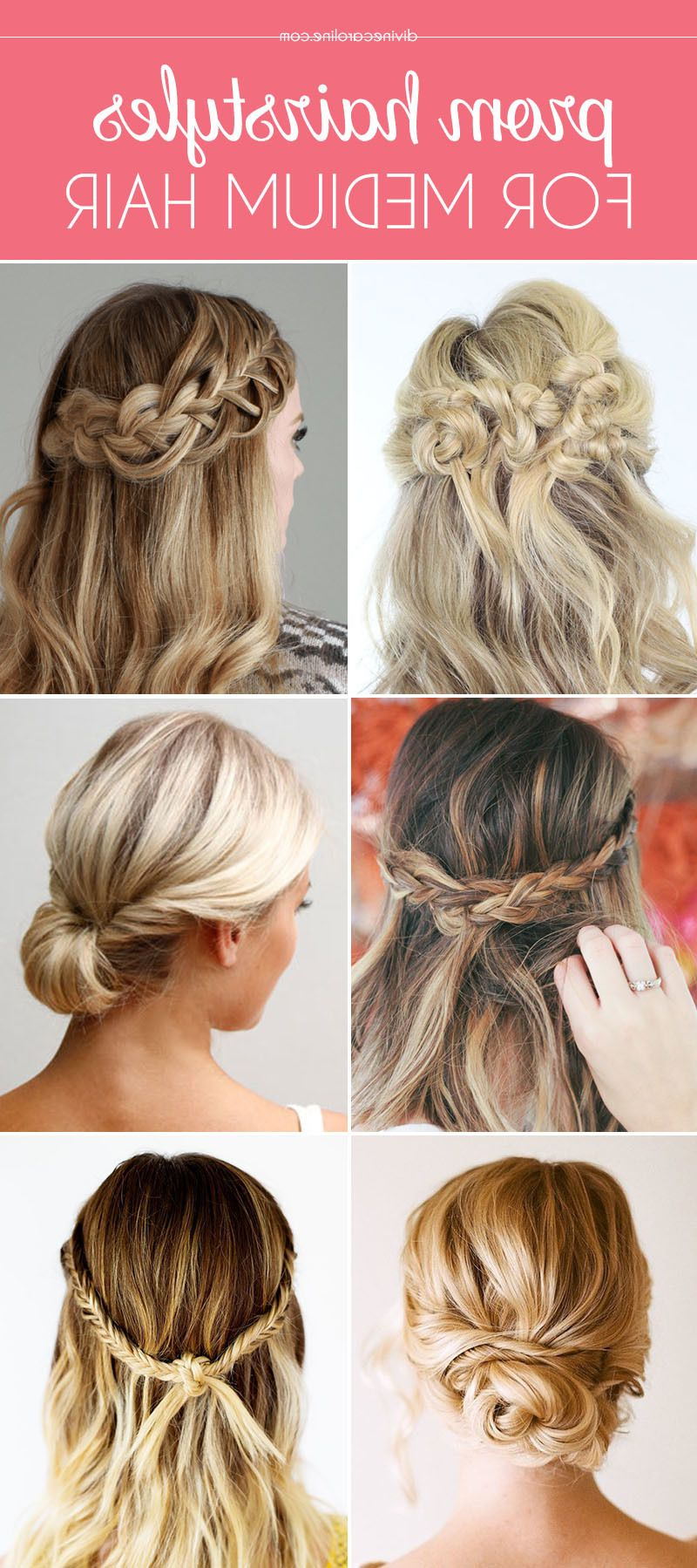 Widely Used Messy Braided Prom Updos In Our Favorite Prom Hairstyles For Medium Length Hair (View 13 of 20)
