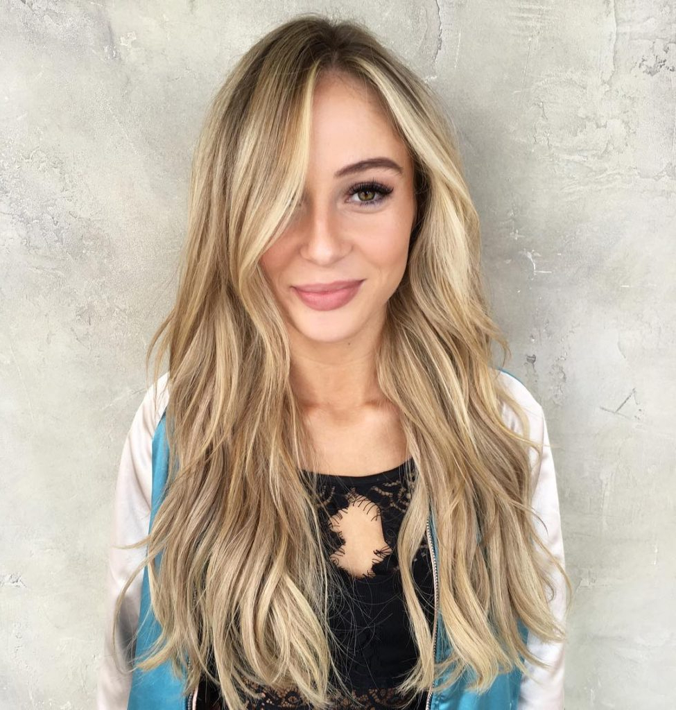 Women's Long Tousled Layers With Soft Waves And Blonde Balayage Long Throughout 2018 Long Tousled Layers Hairstyles (View 3 of 20)