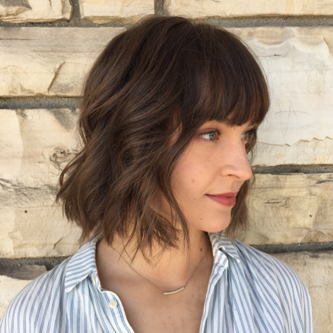 10 Best Bob Hairstyles For 2019 – Cute Short Bob Haircuts With Trendy Bob Hairstyles With Full Fringe (Gallery 17 of 20)