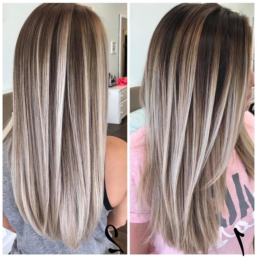 10 Best Long Hairstyles With Straight Hair, Women Long Haircuts 2019 Throughout Well Known Sleek Straight Layered Haircuts (Gallery 13 of 20)
