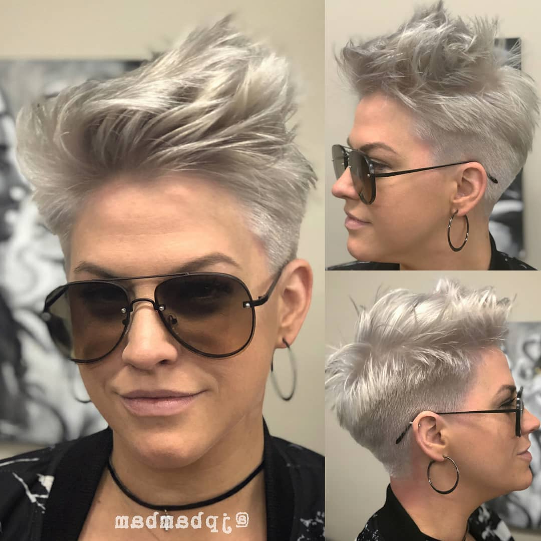10 Daring Pixie Haircuts For Women, Short Hairstyle And Color 2019 Regarding Most Current Daring Color And Movement Hairstyles (View 3 of 20)