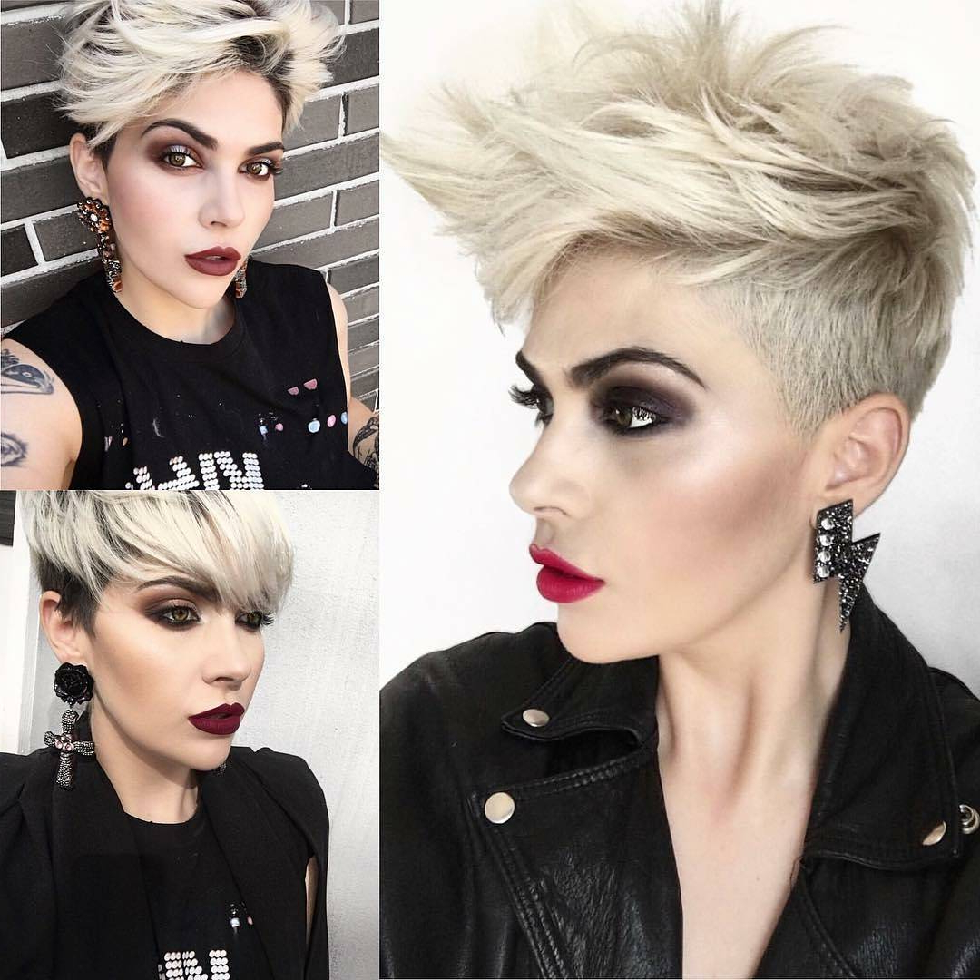 10 Daring Pixie Haircuts For Women, Short Hairstyle And Color 2019 With Widely Used Daring Color And Movement Hairstyles (Gallery 5 of 20)