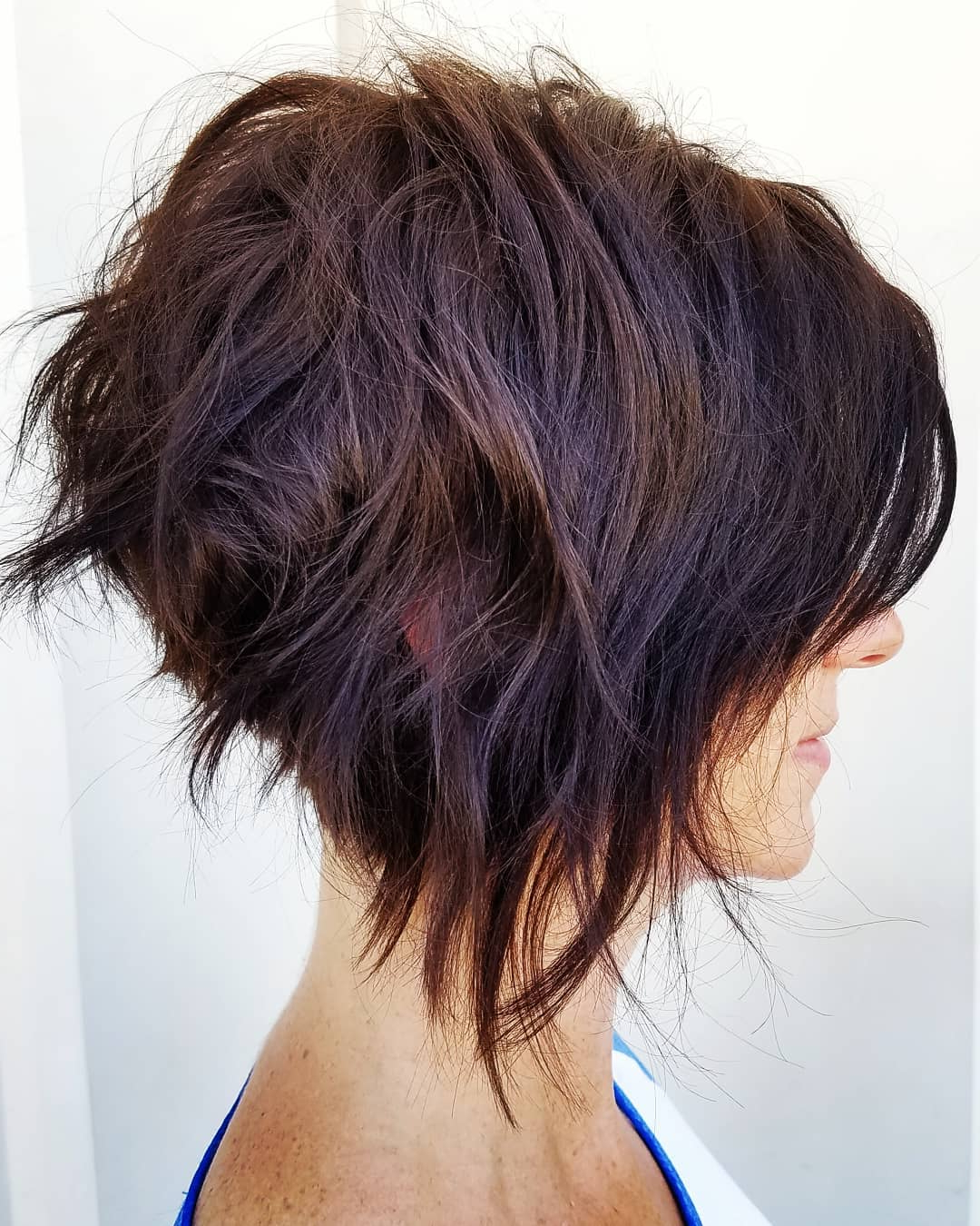 10 Trendy Messy Bob Hairstyles And Haircuts, 2019 Female Short Hair With Regard To Latest Cute A Line Bob Hairstyles With Volume Towards The Ends (Gallery 16 of 20)