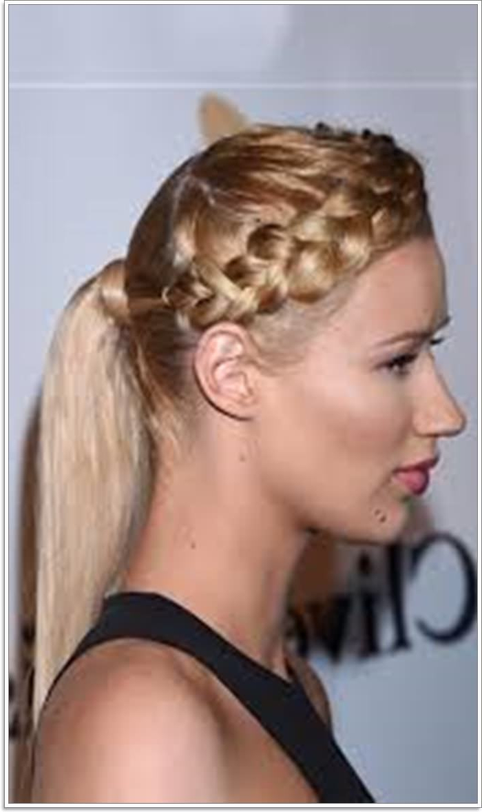 105 Stunning Halo Braid For All Kind Of Event – Style Easily Intended For Most Recently Released Halo Ponytail Hairstyles (Gallery 11 of 20)