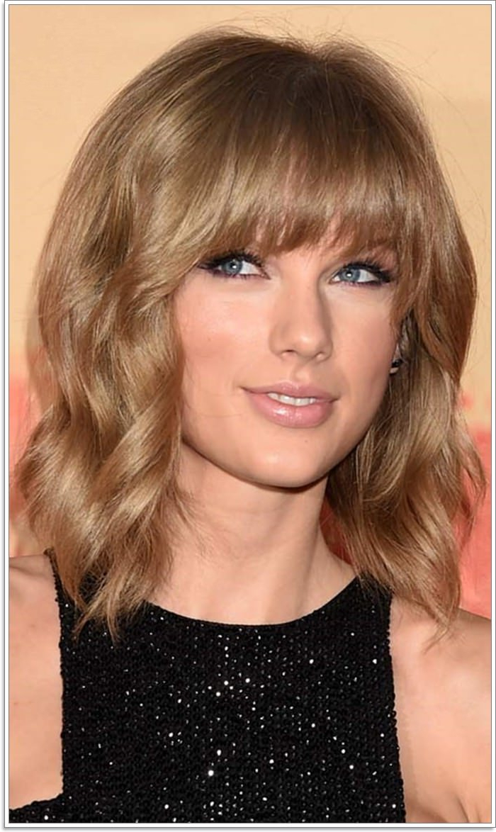 111 Hairstyles With Different Bangs Inside Popular Voluminous Layers Under Bangs Hairstyles (View 2 of 20)