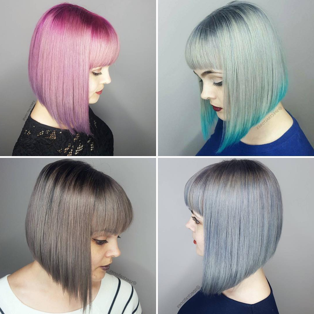 15 Hottest New Trendy Hair Color Ideas For Short Hair – Hairstyles Intended For 2019 Daring Color And Movement Hairstyles (Gallery 6 of 20)