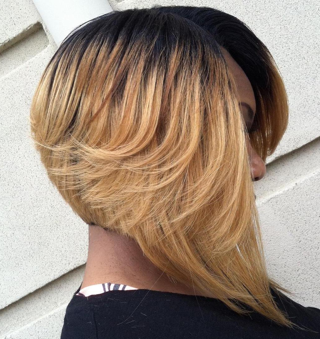 20 Stunning Ways To Rock A Sew In Bob Within Current Textured Bob With Side Part Hairstyles (View 1 of 20)