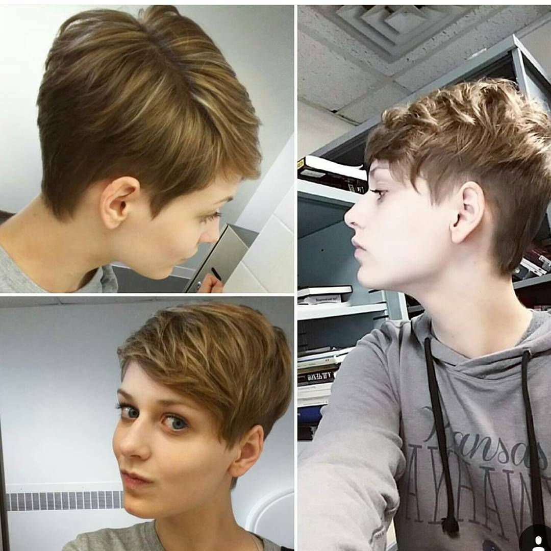 2019 Sleek Pixie Hairstyles Throughout Edgy Pixie, But Can Still Get Away With It In A Conservative Office (View 7 of 20)