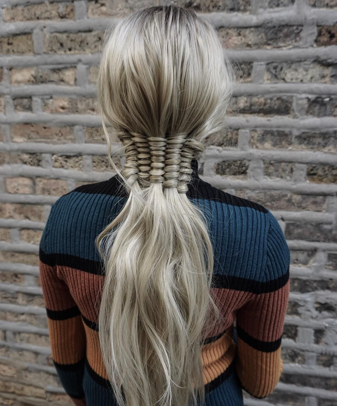 2020 Blonde Accent Braid Hairstyles With Regard To Pretty Up Your Ponytail With This Epic Braided Accent! (View 9 of 20)