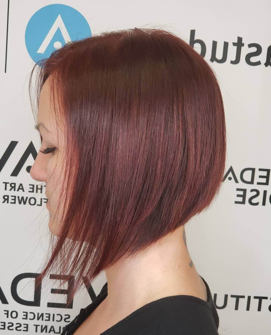 2020 Cute A Line Bob Hairstyles With Volume Towards The Ends With 25+ Inspirational A Line Bob Haircuts And Hairstyles (View 10 of 20)