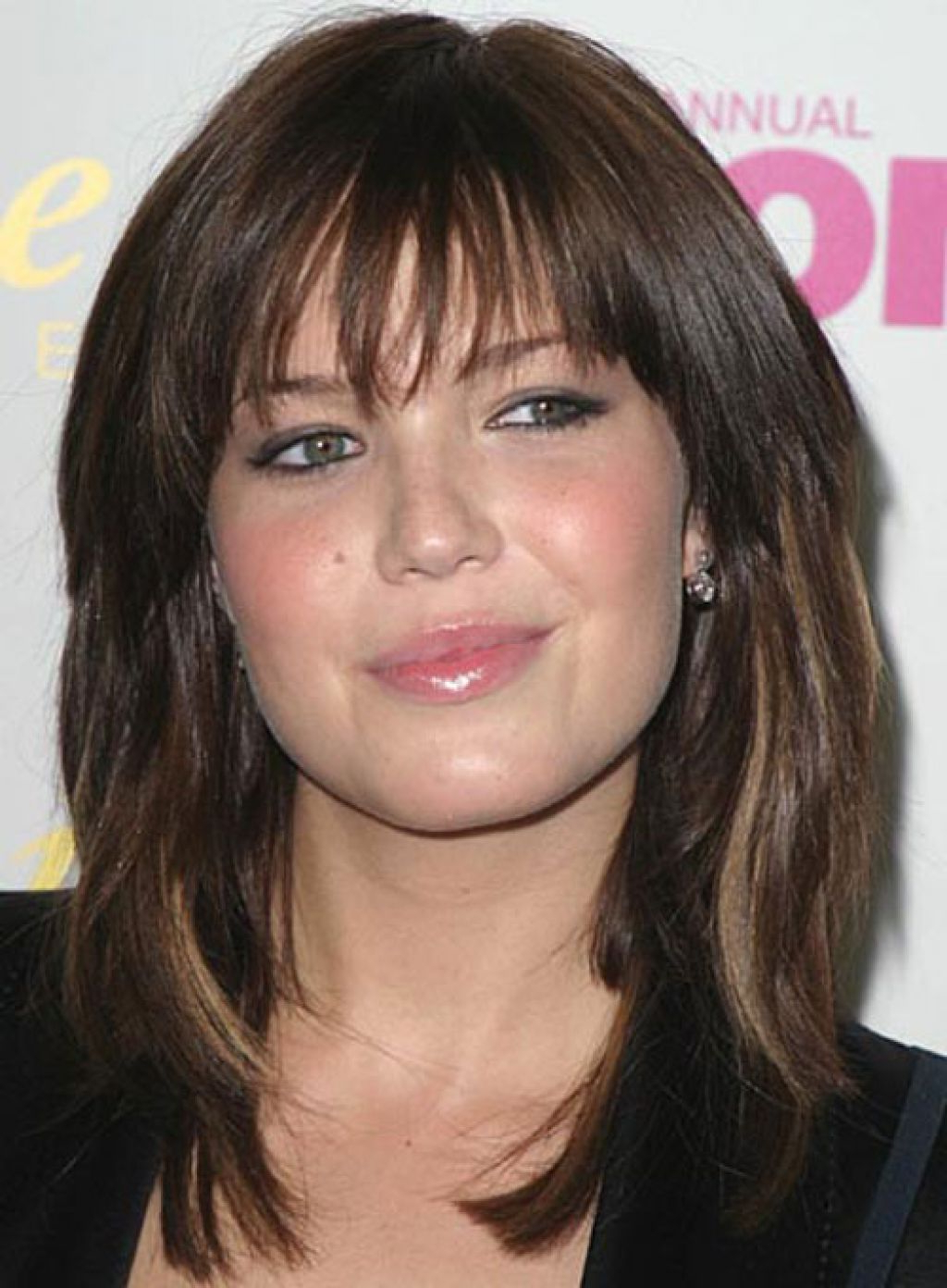 2020 Medium Shag Hairstyles With A Wispy Fringe With Pinlaramie Dunn On Medium Hair Styles For Women (View 4 of 20)